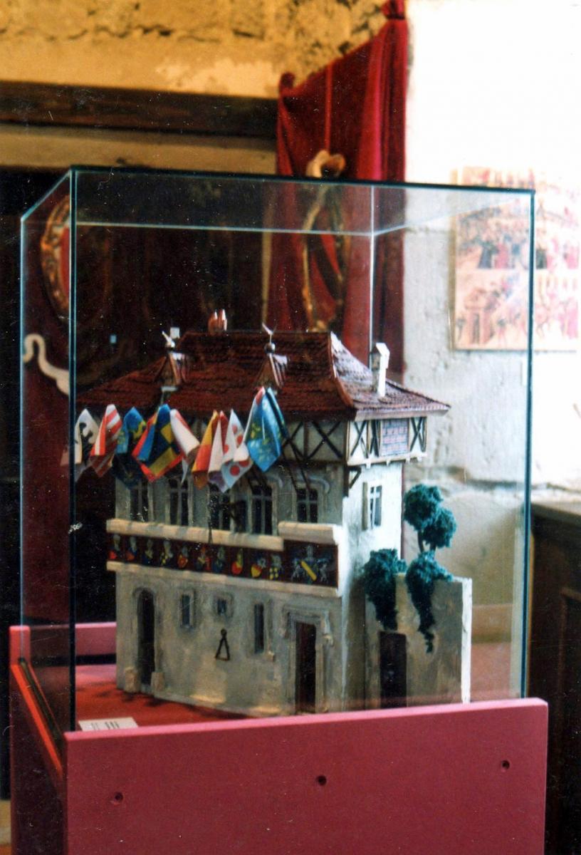 Maquette château médiéval