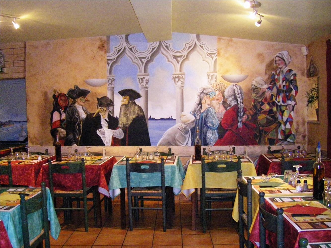 Décors restaurant Don Vito