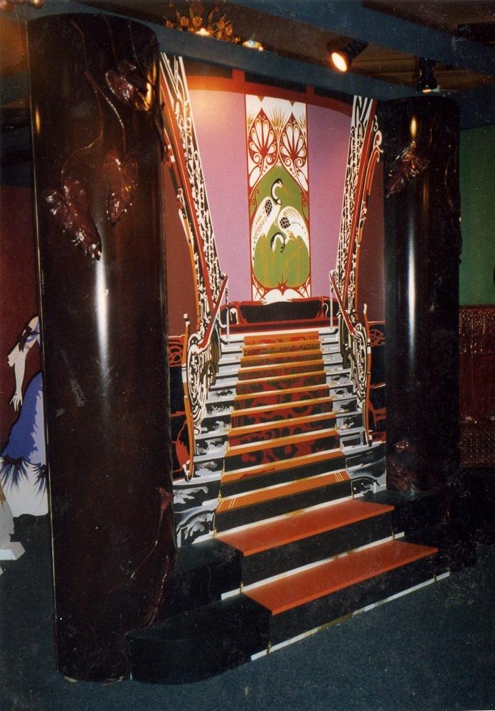 Escalier Belle Epoque 1920