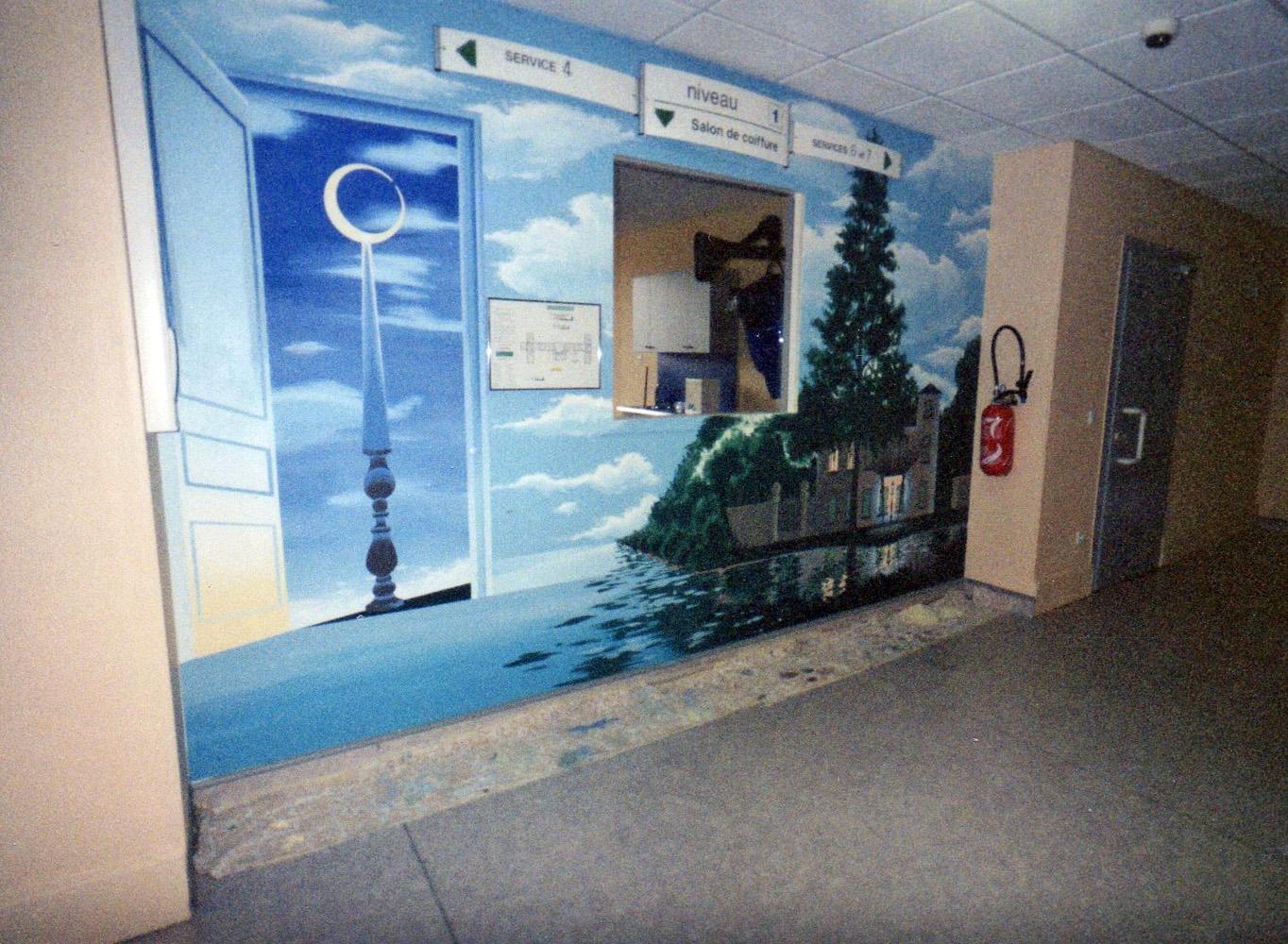 Copie Décor Magritte