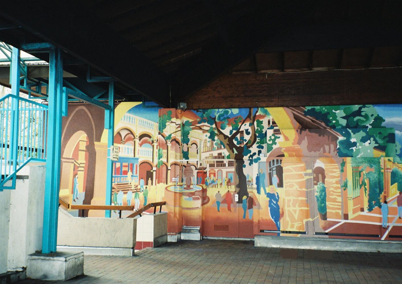 Fresque Office Municipal de la Jeunesse - Cran-Gevrier (74)