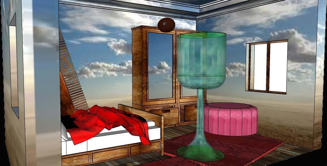 """copie """"Les valeurs personnelles"""" (1952) de  Magritte (1898- 1967) -"""" version numérique"""""""