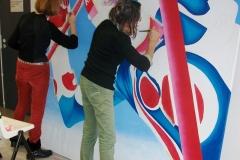 Stage de peinture à l'Alpe d'Huez